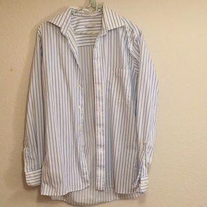 Dior Vintage Striped Button Up